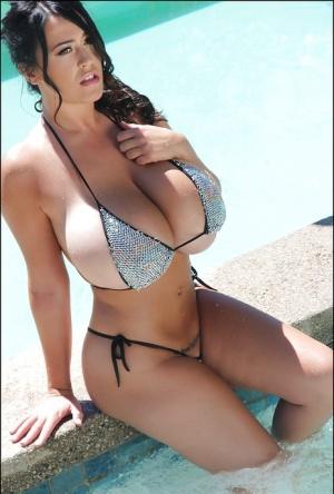 Hot girlfriend big tits wearing swim suit Busty Bikini Pics And Naked Women Boobs At Busty Passion Com